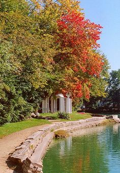The old Sinnissipi Park, Rockford, Illinois  - when I see beautiful locations like this, I miss my hometown