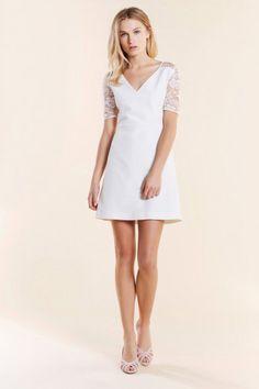 Une robe blanche Pablo by Gérard Darel