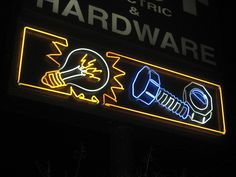 Best Electric Neon Sign by Lost Tulsa, via Flickr