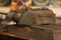 Model Shipwrights :: Weathering my T-34 (results so far)