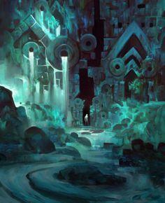 GuildWars2 Cave by TomScholes - http://tomscholes.cghub.com