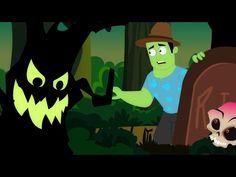 boschi pauroso | canzone di Halloween per bambini | Halloween Song | Scary Woods Behind My House - YouTube