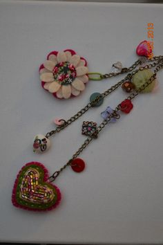 bag charm by Claire McKay