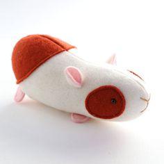 Elliot Guinea pig pattern guinea pig PDF  toy guinea pig