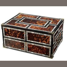 Tortoise Shell and Ivory Box