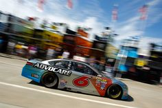 At-track photos: Saturday, Charlotte:   Saturday, May 28, 2016  -   CHARLOTTE, NC - MAY 28: Trevor Bayne, driver of the No. 6 AdvoCare Ford, passes through the garage area during practice for the NASCAR Sprint Cup Series Coca-Cola 600 at Charlotte Motor Speedway on May 28, 2016 in Charlotte, North Carolina.
