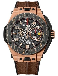 545733cb3ef Hublot Big Bang Ferrari King Gold Carbon Limited Edition Mens Watch  401.OJ.0123.VR