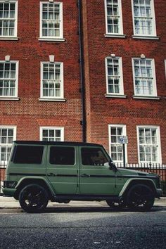 Flat army green g wagon