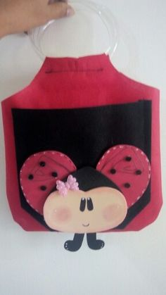 Dulcero para fiesta infantil mariquita o ladybug