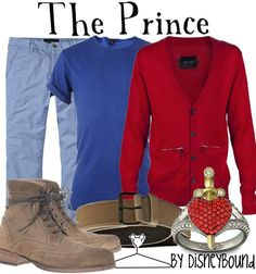The Prince Disneybound.  If I can at least get him in a blue shirt.  ;)