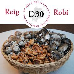Setas de gran calidad en restaurante Roig Robí.