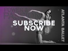 Subscribe Today - Atlanta Ballet 2013/14 Season