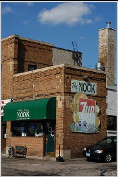 The Nook - Voted best burger in Minnesota!  Known for their Juicy Lucy  Caspers and Runyon's Nook  492 South Hamline Ave.  St. Paul, MN 55116