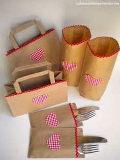 Paper bag crafts Valentine's idea for my classroom Paper Bag Crafts, Paper Bags, Valentine Crafts, Valentines, Teddy Bear Party, Thinking Day, Paper Basket, Diy Crafts For Kids, Paper Goods