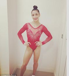 Pricey! Leotards like Aly's would cost about $1,200 on the open market