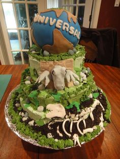 1000+ images about Jurrasic World Party Cake on Pinterest ...