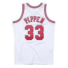 78f07e35090 Scottie Pippen 1997-98 Chicago Bulls Mitchell   Ness Soul Swingman Home  Jersey