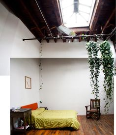 """""""Photo by: A Modern Nomad My old room """" Warehouse Apartment, Warehouse Living, Brooklyn Apartment, Warehouse Conversion, Converted Warehouse, College Living Rooms, Home Ceiling, Cool Apartments, Apartment Design"""