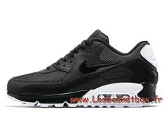 the latest 1c43b e2782 Nike Wmns Air Max 90 Premium ´Metallic Silver´ 443817 005 Femme Enfant  Officiel NIke
