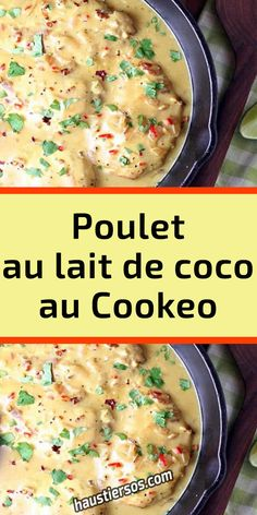 Poulet Curry Coco, Cheeseburger Chowder, Scrap, Menu, Dessert, Healthy, Food, Meat, Savoury Dishes