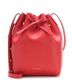 mytheresa.com - Mini leather bucket bag - Luxury Fashion for Women / Designer clothing, shoes, bags