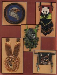 животные из бисера, животные из бисера схемы, леопард из бисера, павлин из бисера