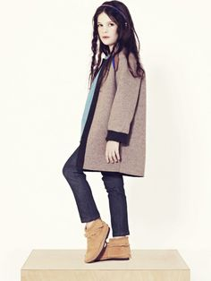 Great coat for little one....Talc for Fall