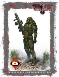 Ilustración para el RPG WALKÜRE