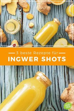 3 best recipes for ginger shots – So healthy is the trend drink / cooking / eating / nutrition / drink / trend / energy shot / energy boost / energy booster / shots / ginger drink / cold / vitamin C / flu / / cooking box / ingredients / healthy / Fast / … Healthy Smoothies, Healthy Drinks, Smoothie Recipes, Healthy Snacks, Healthy Recipes, Stay Healthy, Smoothie Menu, Nutrition Drinks, Diet And Nutrition