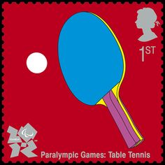 Paralympic Games: Table Tennis by Michael Craig Martin (2nd Series July 27, 2010)