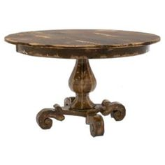 Love the Look of this Traditional 48 Inch Round Dining Table.