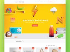 E-commerce main page