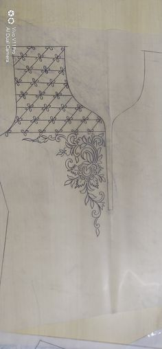 handstickmuster-fur-kurtis-stickerei/ - The world's most private search engine Hand Embroidery Design Patterns, Hand Embroidery Dress, Kurti Embroidery Design, Hand Embroidery Videos, Hand Embroidery Patterns, Embroidery Applique, Beaded Embroidery, Embroidery Stitches, Selena