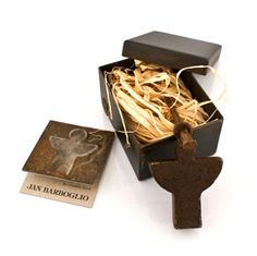 Jan Barboglio Guardian Angel Box - handcrafted forged iron.