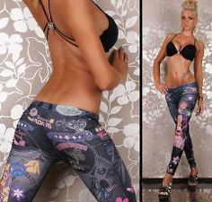 Cheap legging jeans, Buy Quality tattoo leggings directly from China looks leggings Suppliers: Women Sexy Tattoo Legging Jean Look Leggings American Apparel slim fit Jeans Pants for Woman Girls Leggings, Tight Leggings, Lace Leggings, Jeans Leggings, Workout Leggings, Jeans Pants, Beste Leggings, Mode Des Leggings, Warm Pants