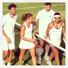 #watson #marray #wimbledon2013 #tennis