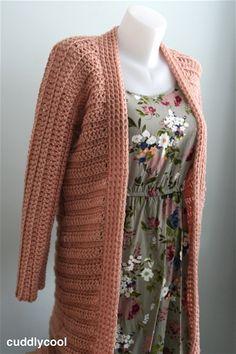Luchtig vest voor de lente gratis patroon – Cuddlycool