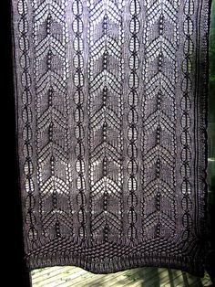knit curtains on Pinterest Lace Curtains, Curtain ...