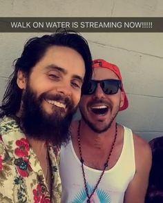 """""""Mi piace"""": 5, commenti: 1 - @love_shannonleto su Instagram: """"Ohhh hey hotties!! #jaredleto #shannonleto #walkonwater"""""""