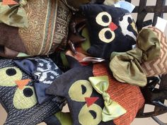 Fantastic Woof N Poof Owls found at @IJSGifts / I'm Just Sayin Gifts at Waterloo & Broadway in Edmond, OK.