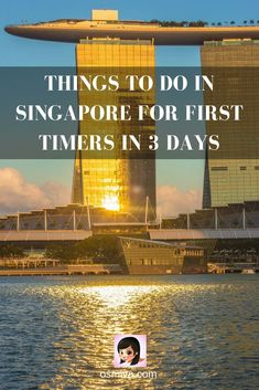 Things To Do in Singapore for First Timers in 3 Days. #travel #asia #singapore #thingstodosingapore #3daysinSingapore #marinabaysands #gardensbythebay via @osmiva