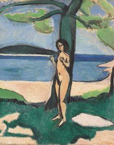 Henri Matisse Nu au bord de la mer 1909