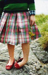 Gorgeous tartan skirt