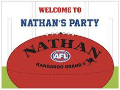 Image result for afl football party
