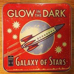 Fabulous retro tins at the Royal Observatory shop at Greenwich...