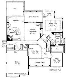 Berkshire Pointe by Frank Betz ... I like the floor plan but the front would have to be changed