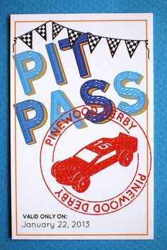 426dc546 Custom Pit Passes: Pinewood Derby Printable. $4.00, via Etsy. Renee Z · Cub  and Boy Scouts