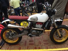 Suzuki DRZ400e scrambler at Deus Bike Build Off Bondi