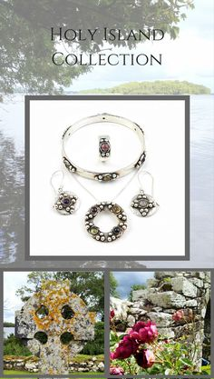 Inspired by a small island on the western shore of Lough Derg. A collection of jewellery with an ancient, Celtic feel.  See where the inspiration came from.
