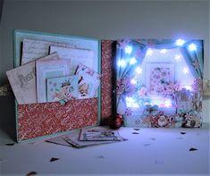 Arte, Artesania y Manualidades: Álbum de Navidad con luz Blokum con la colección Seetest Christmas de Mintay by Karola Christmas Home, Scrap, Gallery Wall, Ideas, Frame, Home Decor, Christmas Paper, Sewing By Hand, Arts And Crafts